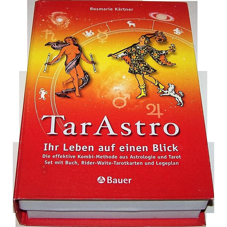 "Freiburg Bauer ""Ihr Leben auf einen Blick ; die effektive Kombi-Methode aus Astrologie und Tarot"" Tarot Cards (""Your Life at a Glance: The Effective Combination Method of Astrology and Tarot""), Rosemarie Kantner Author/Creator, AG Muller Cards"