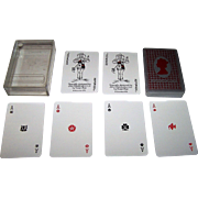 "Waddington ""Silver Jubilee"" Playing Cards, Ltd. Edition, New Suits Deck, Susan Rae Designs, c.1977"
