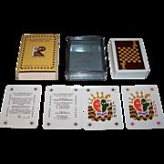"La Milano ""Le Cartescacco"" (""Chess Playing Cards""), Franco Romagnoli Designs, c.1982"