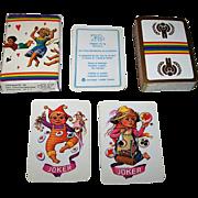 "Carta Mundi ""Year of the Child"" Playing Cards, Turnhout Wereldcentrum van de Speelkaart Publisher, Jhan Paulussen Designs, c.1979"