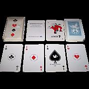 "Siegfried Heilmeier ""Antikriegsspielkarte"" (""Antiwar Playing Cards"") Skat Playing Cards, Hand Colored, Ltd. Ed. (61/100), c.1983"