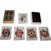 "Speelkaartenfabriek Nederland ""Noord Brabant"" Playing Cards, Jan Wijga Designs, c.1943"