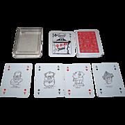 """Coeur """"9-11-89 Passé"""" Skat Playing Cards, Rainer Schwalme, c.1990"""