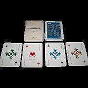 "Samjac ""Feh"" Adv. Playing Cards, ""Schnapskarten"" (24 Cards), Atelier Hussi-Raudnitzky Designs"