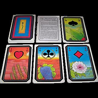 "Grimaud ""Le Chiromancien de Madame Indira"" Fortune and Palmistry Cards, c.1985"