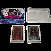 "Double Deck Coeur ""Oper II"" Playing Cards, Peter Becker Designs, c.1989"