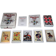 "Carta Mundi ""Members Pack"" Playing Cards, IPCS Publisher, Ltd. Ed. __/999, c.2000"