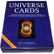 "Thorson ""Universe Cards: Personal Predictions for the 21st Century"" Oracle Cards, Kay Stopforth Conception"