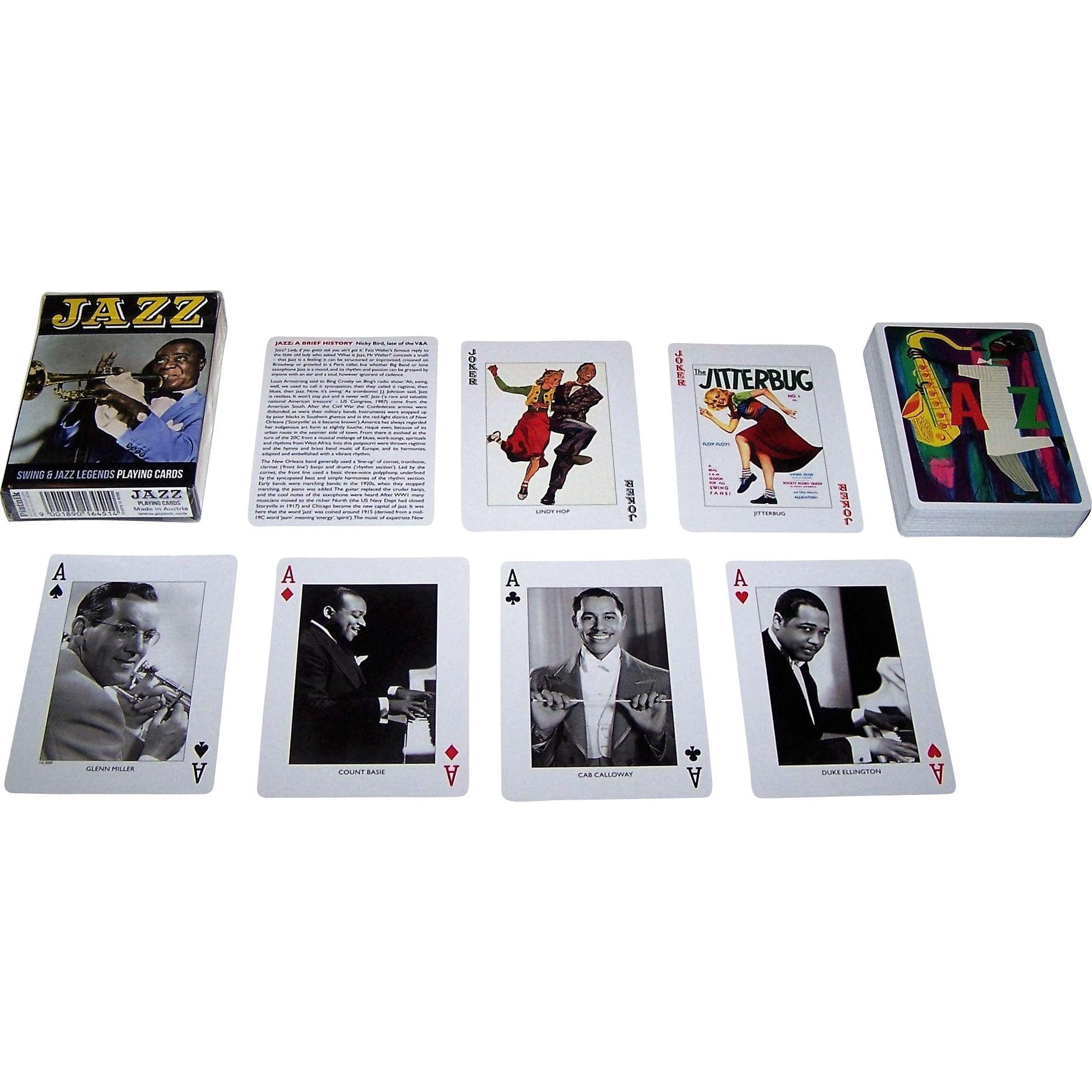 "Piatnik ""Jazz"" Playing Cards"