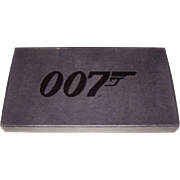 "3-Deck Set Carta Mundi ""007"" Playing Cards, 20 James Bond Films, c.1962-2002"