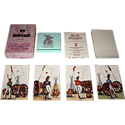 "Edizioni del Solleone ""Jeu de Drapeaux"" Piquet Playing Cards, Limited Edition (195/999), c.1977 [Facsimile Edition, French Deck c.1814"
