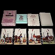 """Edizioni del Solleone """"Jeu de Drapeaux"""" Piquet Playing Cards, Limited Edition (195/999), c.1977 [Facsimile Edition, French Deck c.1814"""