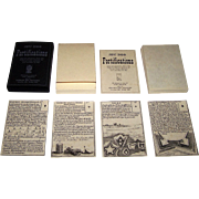 "Edizioni del Solleone ""Jeu des Fortifications"" Playing Cards, Limited Edition (222/600), c.1982 [Facsimile Edition, French Deck c.1763]"