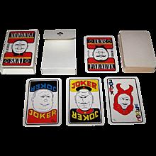 "Siegfried Heilmeier ""Skat Paradox"" Skat Playing Cards, Ltd. Ed. (52/70), c.1991"