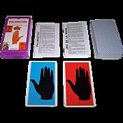 "Grimaud ""Jeu de la Main"" (""Palmistry"") Fortune Telling Cards, c.1963"