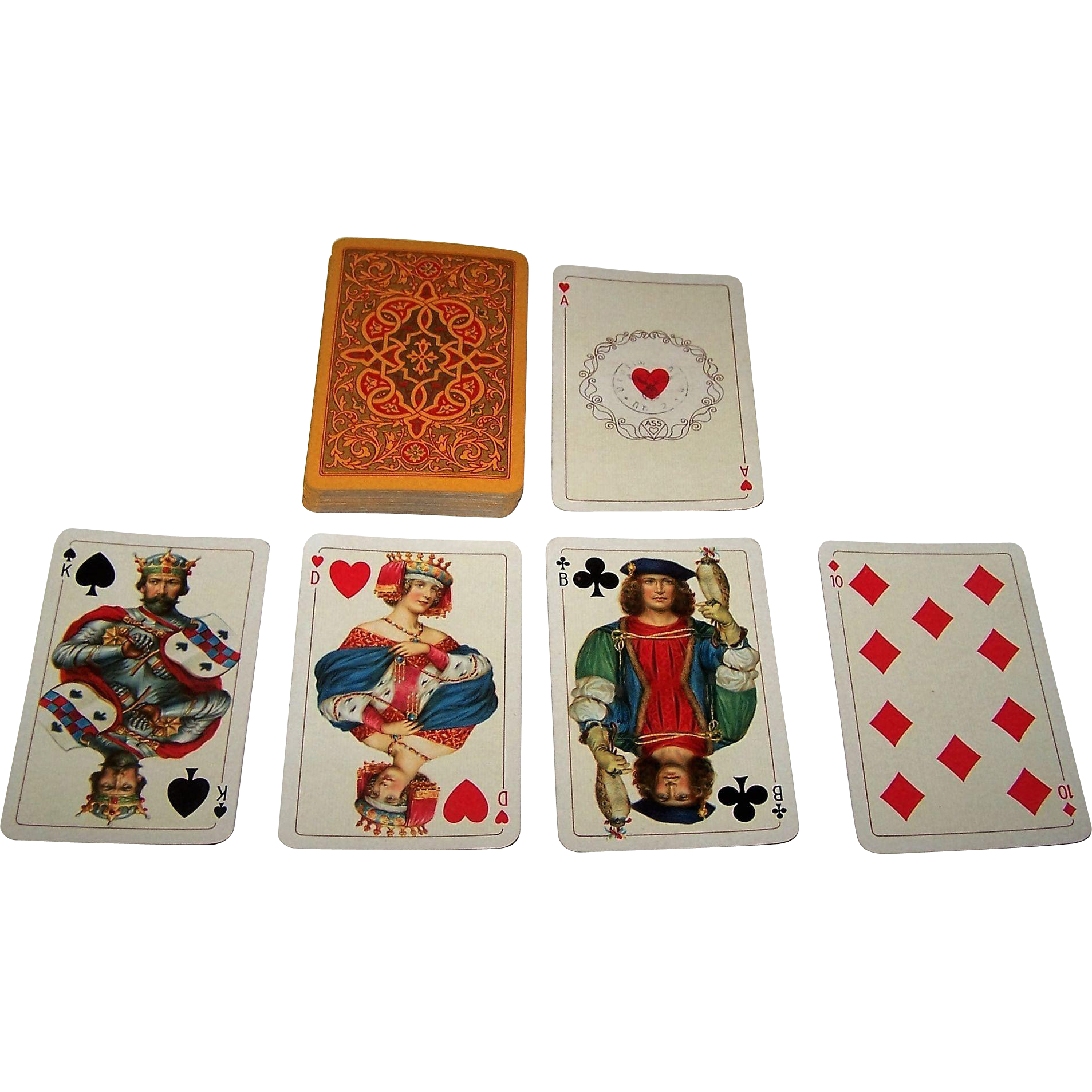"ASS/Dondorf ""Prince"" Playing Cards (52/52, NJ), c.1936-1939"