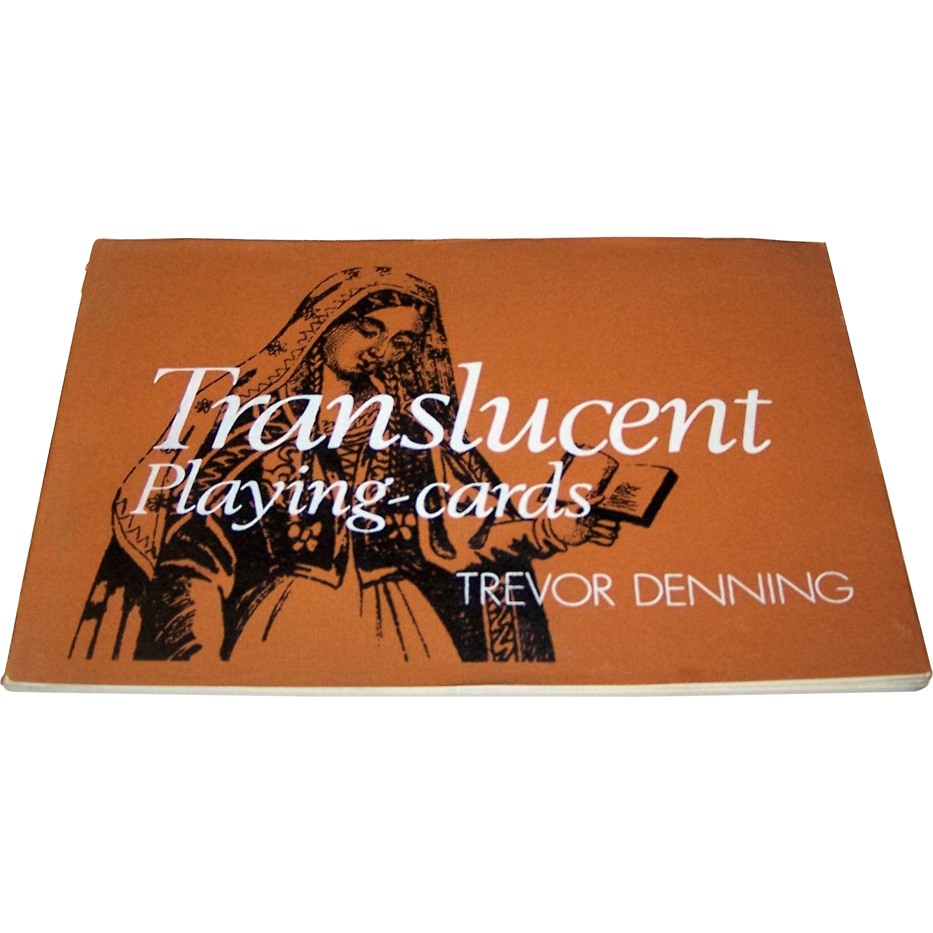 "Trevor Denning, ""Translucent Playing Cards"" Book, Ltd. Ed. (190/300), Signed by the Author, c.1976"