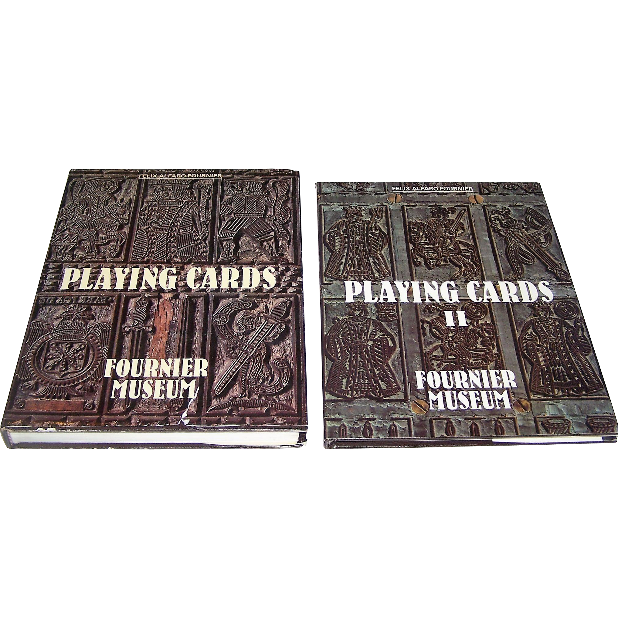 "Felix Alfaro Fournier, 2-Volume Work (English), Books: ""Playing Cards,"" c.1982 and ""Playing Cards II,"" c.1988"