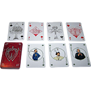 "Germany ""Richard Wagner"" Playing Cards, Maker Unknown, Artist Unknown"