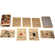 "Carta Mundi Facsimile ""Baron Athalin"" Transformation Playing Cards, [Baron Athalin Designs, 1832], c.1979"