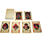 "Lepori & Storni ""Piccionaia & Tris"" Playing Cards, Franco Cavani Designs, c.1973"