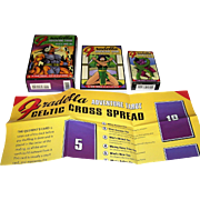 "U.S. Games Systems, Inc. ""Fradella Adventure Tarot"" Tarot Cards w/ Book and Spread Sheet, Frank Fradella Conception, JP Dupras Designs"