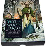 "Sterling Ethos ""Wildwood Tarot"" Tarot Cards w/ Book, Mark Ryan and John Matthews Conception, Will Worthington Designs"