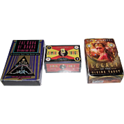 "3 Sets of Tarot/Fortune Cards, $10/ea.: (i) Destiny ""Book of Doors Divination Deck""; (ii) Quirk Books ""Zombie Tarot""; (iii) Marchetti ""Legacy of the Divine Tarot"""