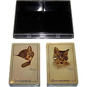 "Double Deck USPC RCI ""Chessie and Peake"" Railroad Playing Cards, Chesapeake and Ohio Railway, c.1986"