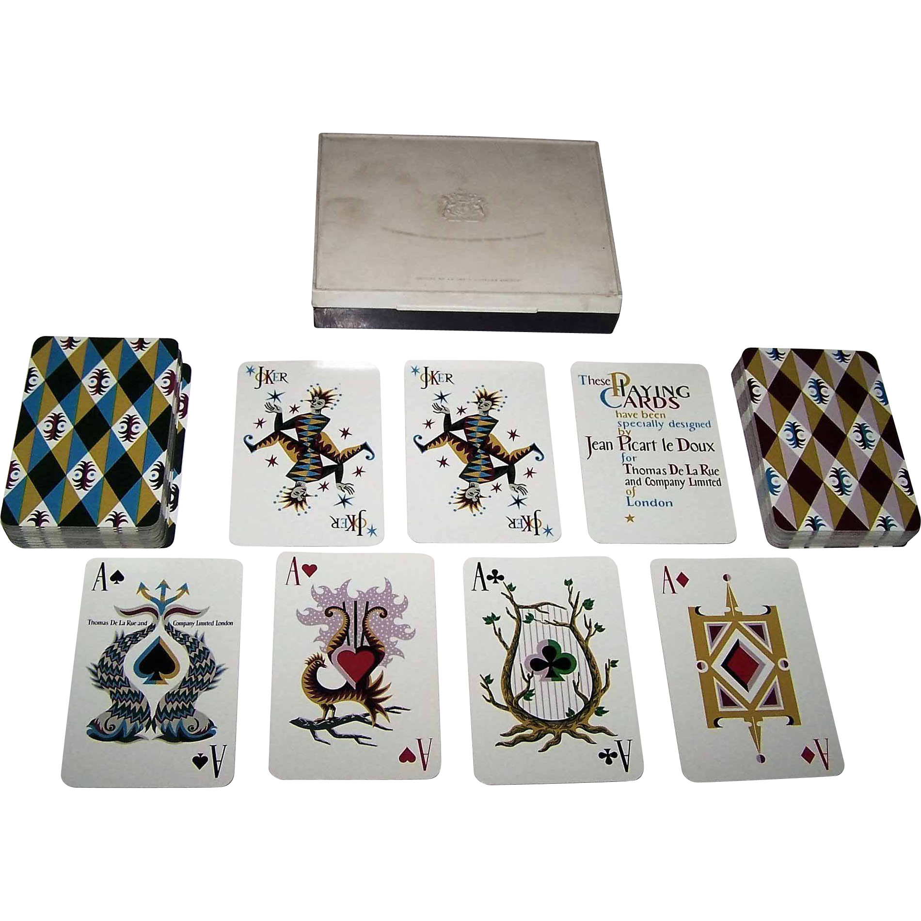 dating de la rue playing cards By thomas de la rue & co, 1834, square sold with john hayter's research notes on his de la rue playing cards a pack of english playing cards by thomas.