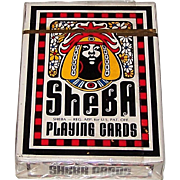 "Brown & Bigelow ""Sheba"" Playing Cards, Omega Concepts Ltd. Publisher, Brent Bailer Designs, c.1972"