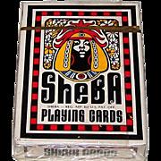 "Brown & Bigelow ""Sheba"" Playing Cards, Omega Concepts Ltd. Publisher, Brent Bailer Designs, c.1972"