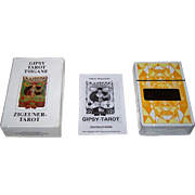 "AG Müller ""Gipsy Tarot Tsigane"" Tarot Cards, Originally ""Zigeuner Tarot,"" Walter Wegmüller Designs, c.1982"