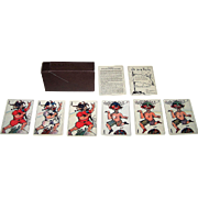 "Edition del Solleoni (Arienti) ""Les Non Senses"" Playing Cards, ""Pataphysics"" Inspired Designs, c.1988"