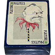"Carta Mundi ""Playing Politics"" Playing Cards, Intercol/V&A Museum (Publ.), Marc, Trog, Scarfe, Springs (Illus.), c.1983"