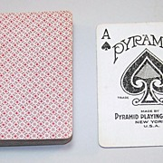 "Pyramid ""#100"" Playing Cards, New Courts, c.1926"