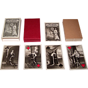 """Edizioni del Solleone """"In Bromsilber Photographie"""" (""""In Black and White Photography"""") Playing Cards, Historical Berlin Actors, Limited Edition (464/800), c.1983"""