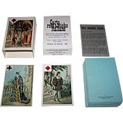 "Edizioni del Solleone ""Carte Romantiche Italiane"" (""Romantic Italian Cards"") Playing Cards, Limited Edition (687/999), c.1984"