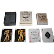 "La Milano ""Raffaello Sanzio"" Playing Cards, I Maestri Dell'Arte Italiana Series (No.2), c.1982"