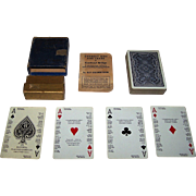 "Russell ""Culbertson's Own Self-Teaching Playing Cards for Contract Bridge"" w/ Explanatory Booklet, c.1932"