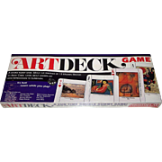"Aristoplay ""Artdeck Game"" Card Game, A Double Rummy Game, c.1993"