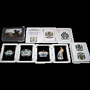 """Heron (Editions le Diouris) """"Jeu du Musee de la Compagnie des Indes"""" Playing Cards, Le Diouris Publisher, c.1980s"""