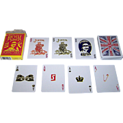 """USPC (Bicycle Brand) """"Sex Pistols"""" Playing Cards, New Suits Deck"""