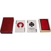 "Kemper-Thomas ""Kay-Tee"" Playing Cards. Mt. Holyoke College Centennial, c.1937"