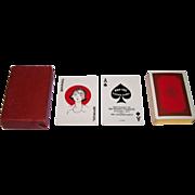 "Kemper-Thomas ""Kay-Tee"" Playing Cards. Mt. Holyoke College Centennial, c.1937"