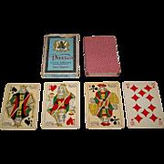 "Ets. Mesmaeker Freres ""Davros Goût Egyptien"" Playing Cards, c.1935"