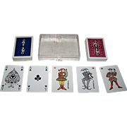 "Double Deck Coeur ""Polish Ocean Lines"" Maritime Playing Cards, c.1960s"
