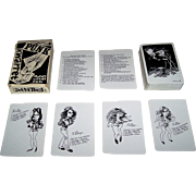 "Carta Mundi ""Punk Kwartet"" Quartet Card Game, Muziekkrant Oor Publisher, Willem Vleeschouwer Designs, c.1977"