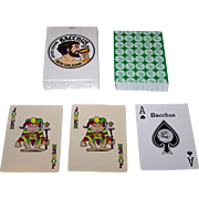 "New Orleans Mardi Gras ""Krewe of Bacchus"" Playing Cards, Publisher and Maker Unknown, Sean Gautreaux Designs"