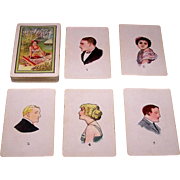 "USPC ""Teuila"" Fortune Telling Cards, Isobel Strong Field Copyright Designs, c.1923"